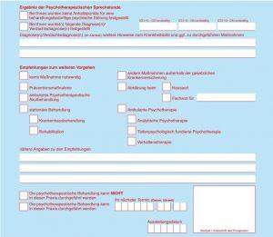 Formular PTV 11 Kostenerstattung