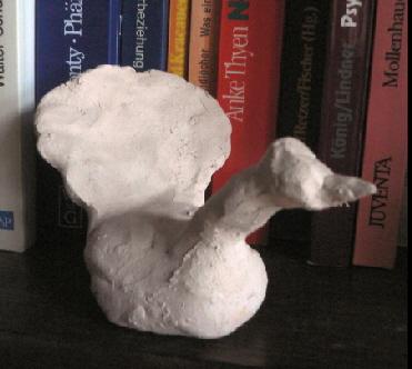 Keramikobjekt O. Albrecht, Foto: © W. Albrecht